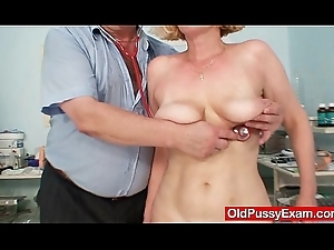 Hairy pussy lady Tamara delicate dilute exam