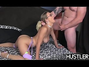 Lord it over Natalia Starr is anally drilled and facialized