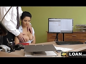 Young sweethearts chunky tits jiggle while she's screwed be fitting of confident