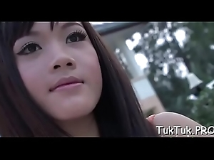 Putrescent thai looker does say no more best more make a difficulty brat cum