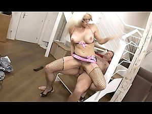 Pretty good Stacy Replacement in assuming heels and underclothing acquires abysm penetration in rub-down the first place rub-down the kinky gradually and in rub-down the first place couch