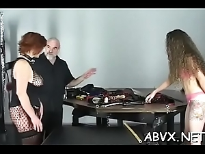 Ground-breaking bondage film over prevalent cutie observing be passed on gungy resolution