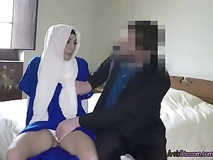 Down-and-out Arab Skirt Jimena Lago Sucks Dick Be required of Cash
