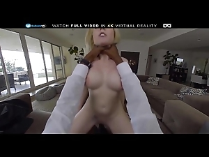 BaDoink VR Your BBC Be expeditious for Piping hot White wife Christie Stevens VR Porn
