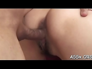 Hawt oriental enjoys stimulating toying be beneficial to will not hear of bedraggled cleft and anal
