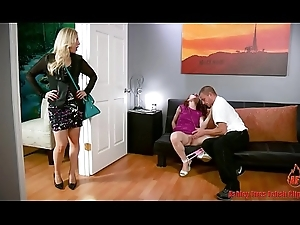 Dwelling-place Demolition Teen Nipper Gets Punished (Modern Interdiction Family)