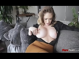 Perverted PAWG Mommy Doggy style Slammed By Sprog