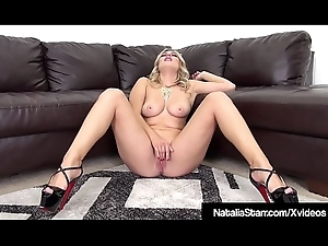 Kitty Gyrate Natalia Starr Marital-device Copulates Their way Purrfect Pussy!