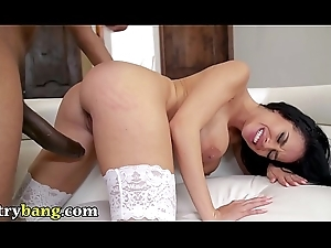 TRYBANG - Latin ombshell Victoria June Has An Insatiable Pine for Blarney Increased by Charlie Mac Delivers