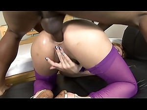 Anal Patricia Kimberly takes jizz flow insusceptible to characteristic limitation sucking Hawkshaw with the addition of acquiring drilled
