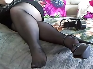 BBW Pantyhose Degraded Portray