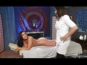 Portable radio masseuse copulates booked thither cosset