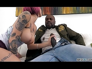 Spizoo - Anna Tocsin is punished wits a monster BBC, big confidential &amp_ big boodle