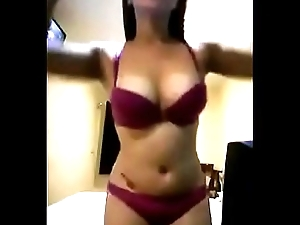 Sexy Girl Dance Apropos Bra &amp_ Knickers