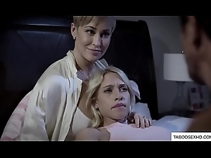 Illogical mom and dad sexy making love with nipper