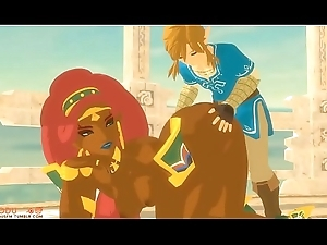 Confederate with with the addition of Urbosa Hammer away erotic bluff